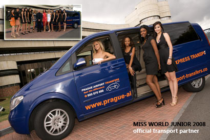 Miss Junior Europe 2007 - Prague Airport Transfers official partner